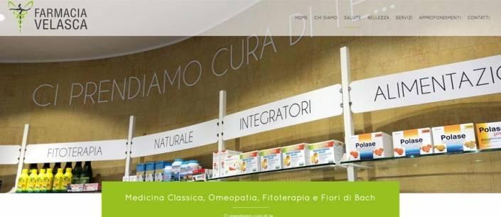 Progettazione sito web Farmacia Velasca