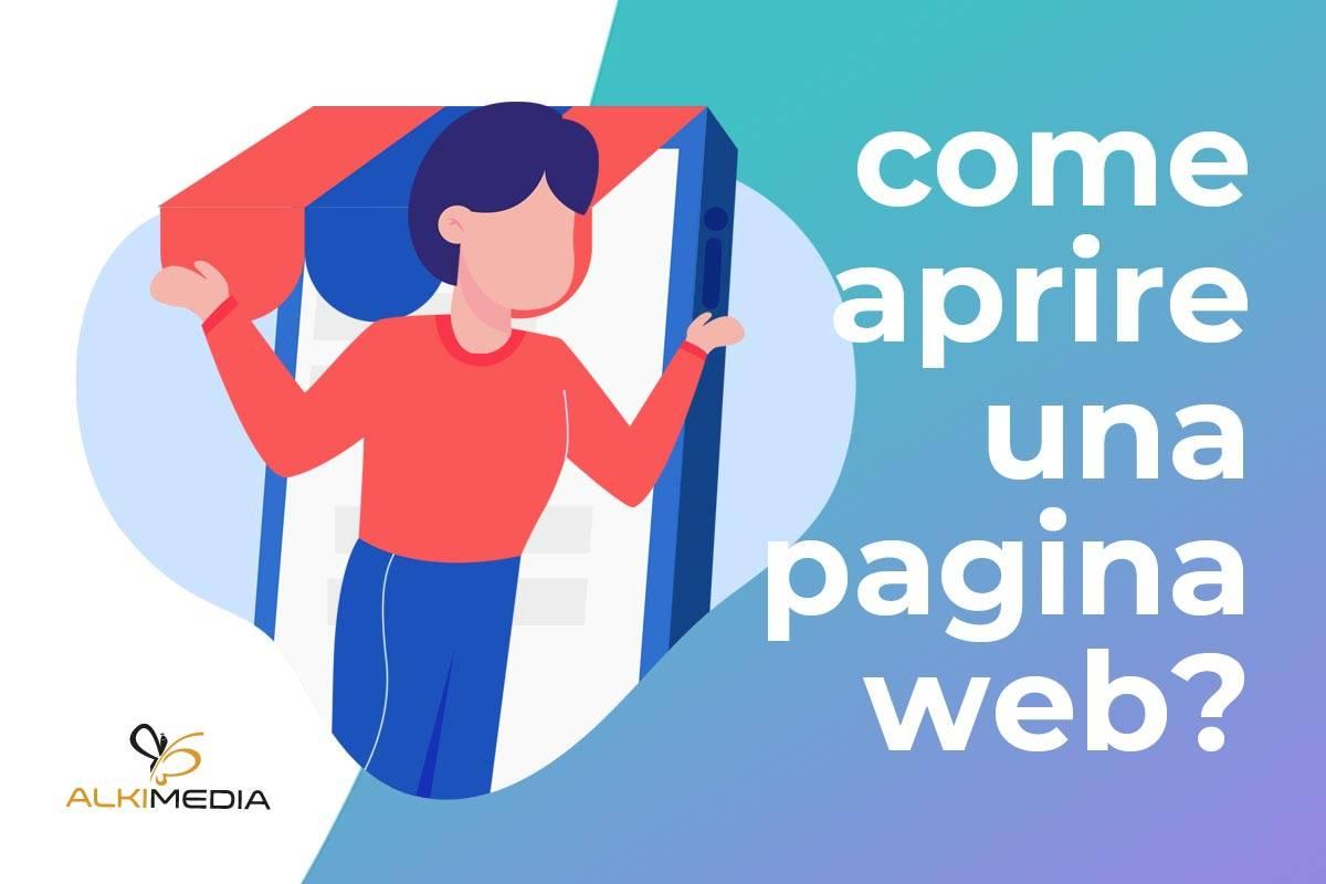 Come aprire una pagina web